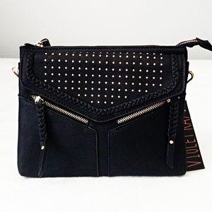 VIOLET RAY Black Crossbody Bag